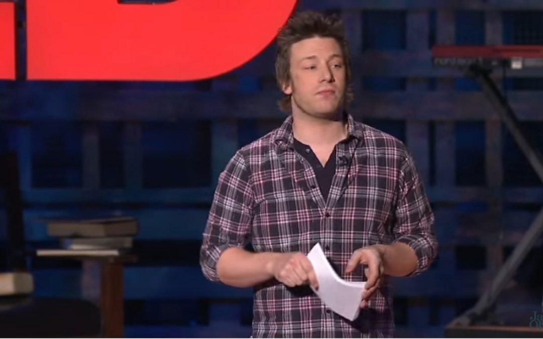 Jamie Oliver Gets the TED-prize