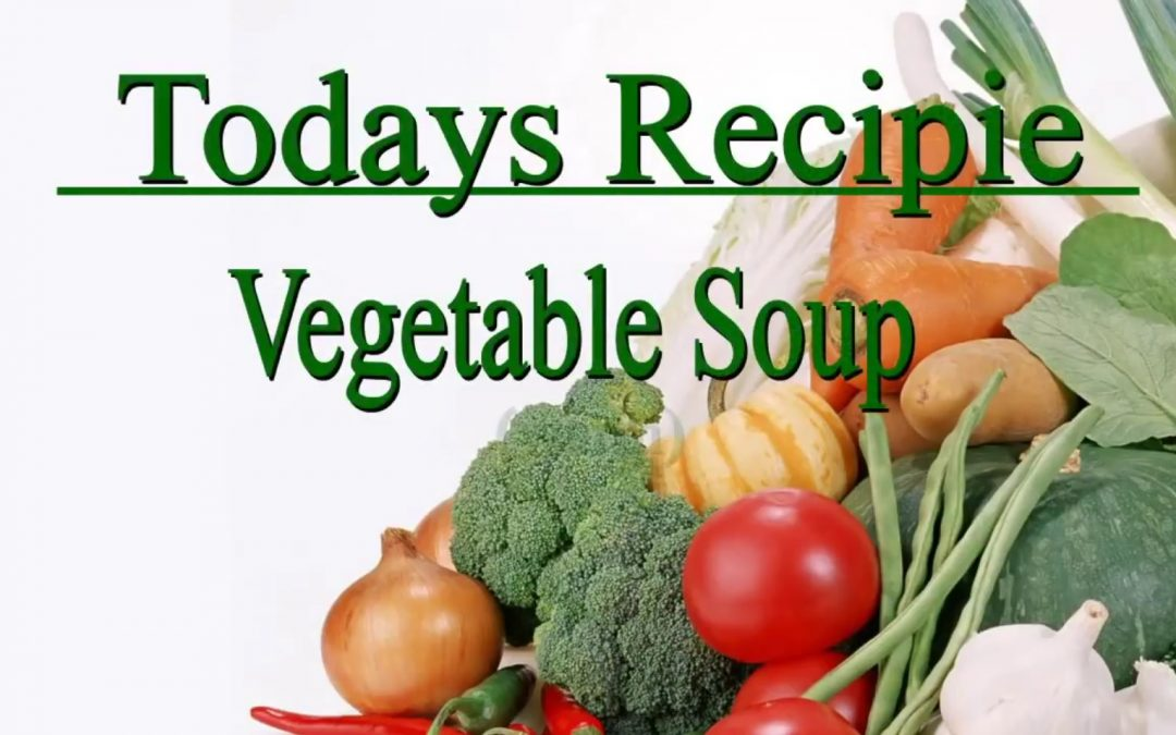 Warm Vegetable Soup